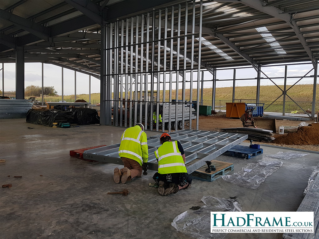 HadFrame assembly