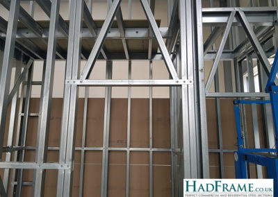 Doors all have cross bracing across the top to provide extra stability